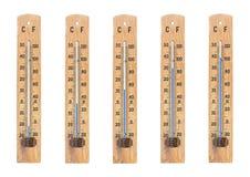thermometers royalty-vrije stock afbeeldingen