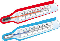 Thermometers Stock Foto