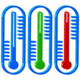 Thermometers Stock Photography