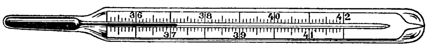 thermomètre médical Royalty Free Stock Photo