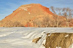 thermopolis Wyoming obrazy royalty free