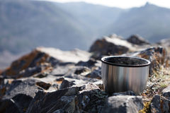 Thermos cup Stock Images