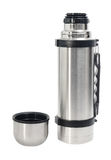 Thermos flask and cup Stock Photography