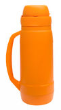 Thermos Flask with path Royalty Free Stock Image