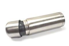 Thermos  metal flask Stock Photos