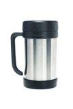 Thermos mug Royalty Free Stock Photos