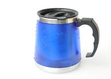 Thermos mug Stock Image