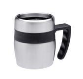 Thermos mug Stock Photo