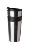 Thermos travel tumbler, cup Stock Photography