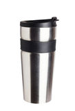 Thermos travel tumbler, cup Royalty Free Stock Photography