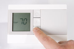 Thermostat Image stock