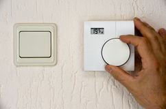 Thermostat Royalty Free Stock Photography