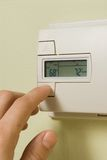 Thermostat Stockfoto