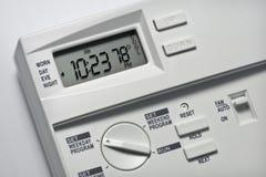 Thermostat 78 Grad kühlen ab Lizenzfreie Stockfotos