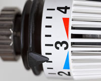 Thermostat d'appareil de chauffage Image stock