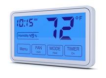 Thermostat de Digital illustration de vecteur