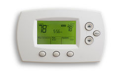Thermostat de Digitals Photographie stock libre de droits