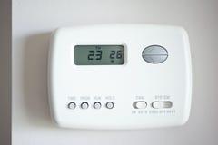 Thermostat de Digitals Images libres de droits