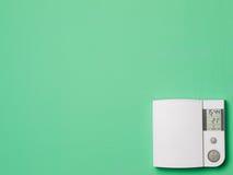 Thermostat de maison de commande numérique Image stock