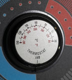 Thermostat Knob Royalty Free Stock Images