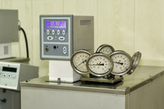 Thermostat laboratory. Royalty Free Stock Image
