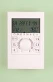Thermostate della stanza Fotografia Stock
