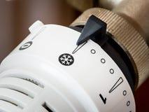 Thermostatic radiator valve. stock images