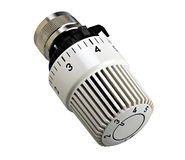 Thermostatic valve close up Royalty Free Stock Image