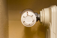 Thermostatic valve Royalty Free Stock Image
