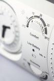 Thermostattimer A Lizenzfreie Stockfotos