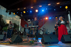 Therr Maitz group performs at Usadba Jazz Festival Stock Photography