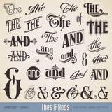 Thes y Ands Imagenes de archivo