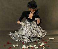 thescrap чтения письма повелительницы Стоковые Изображения