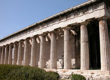 Theseion at Ancient Agora Stock Photography
