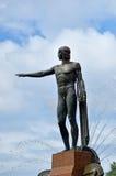 Theseus sculpture on Archibald Fountain Hyde Park Sydney New Sou Royalty Free Stock Image