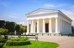 Theseus-Tempelgebäude an Volksgarten-Park in Wien lizenzfreie stockfotografie