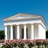 Theseus temple in park Volksgarten in Vienna Royalty Free Stock Photography