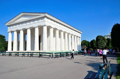 Theseus temple in park Volksgarten Royalty Free Stock Images