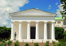 Theseus temple in the Volksgarden Royalty Free Stock Image