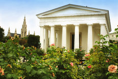 Theseus Temple in the Volksgarten, Vienna, Austria Royalty Free Stock Photos