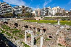 10 03 2018 Thessaloniki, Греция - lo Hamam бейя бани тахты Стоковая Фотография