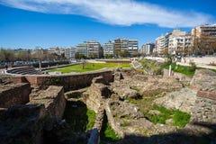 10 03 2018 Thessaloniki, Греция - lo Hamam бейя бани тахты Стоковые Изображения