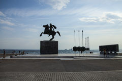 thessaloniki fotografia stock libera da diritti