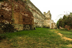 Thessaloniki ancient castle walls Stock Photos