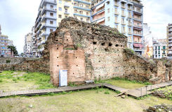 Thessaloniki. Ancient Roman Forum or Agora Royalty Free Stock Photography