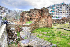 Thessaloniki. Ancient Roman Forum or Agora Royalty Free Stock Images