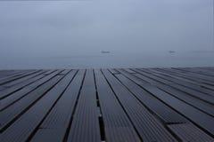 THESSALONIKI. The Beauty of Thessaloniki. Rain Cloudy Royalty Free Stock Photo