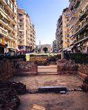 Rotonda,Thessaloniki, Greece Stock Images