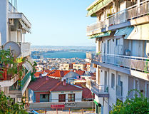 Thessaloniki cityscape Stock Photos