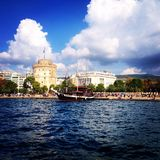 Thessaloniki. During a day stock photo